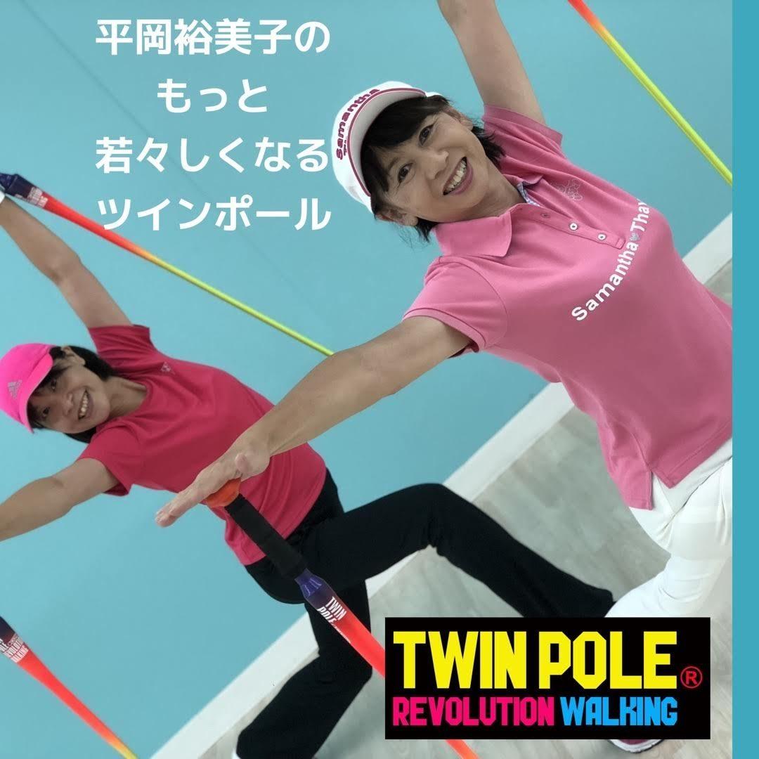 オリジナリティーに富んだ Twin Pole🄬 (富士通スタジアム)